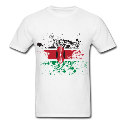 Kenya Flag Splash